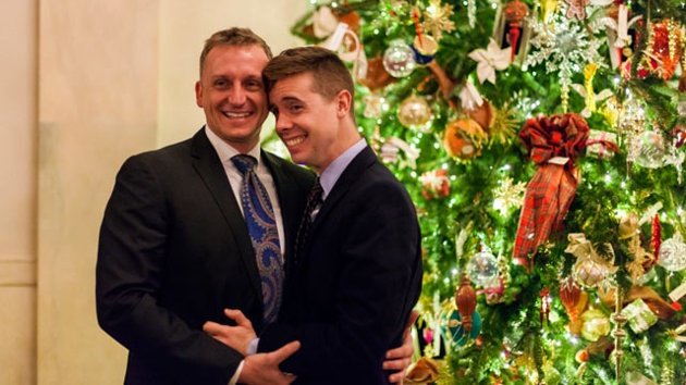 Gay Marine Corp Makes History After Proposing To boyfriend Inside The White House!