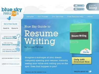Blue Sky Resumes: Professional Resume Writers