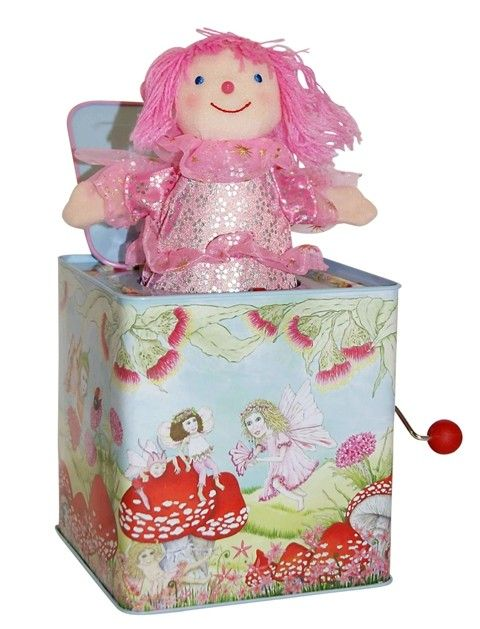 Jack in the Box - Fairy Another classic favourite. What a sweet version of the Jack in the Box! #EntropyWishList #PinToWin