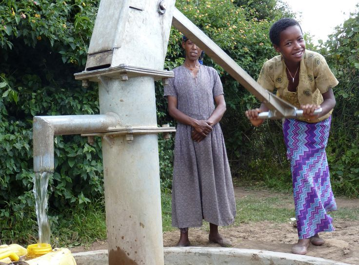 Well or Water System - From TEAR's Useful Gifts: The original way to buy a goat and other poverty-fighting gifts. #usefulgifts #charity #donate #aid #safe-water @tearaustralia