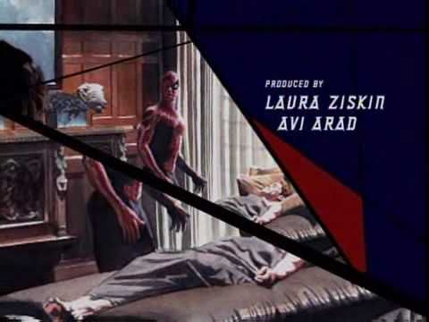 These are the opening credits for Spiderman 2. I thought the design concept was amazing and that's why I uploaded it. Plus, Danny Elfman's score is unforgettable!