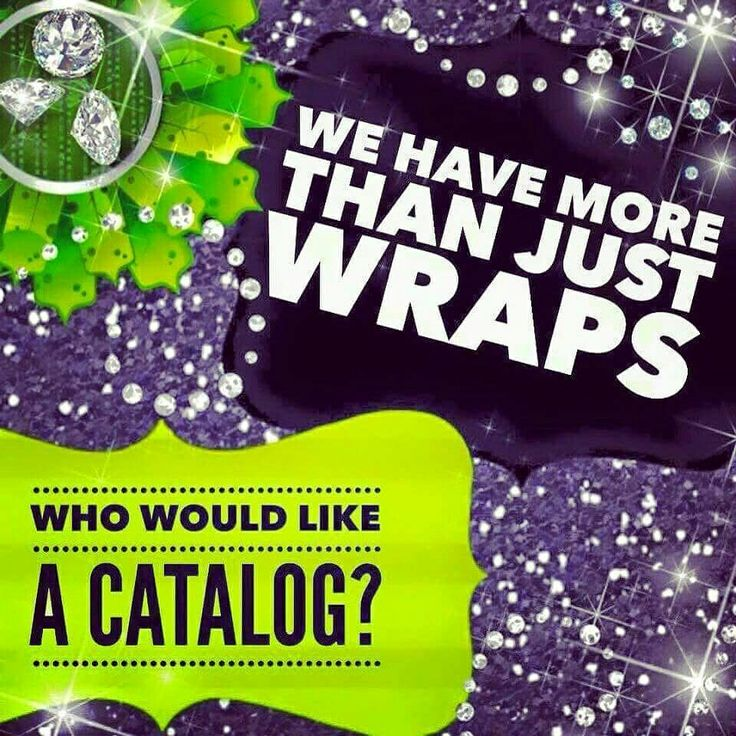Contact me to make a Wrap Appt or send you a catalog!! Text me at (214)669-6069