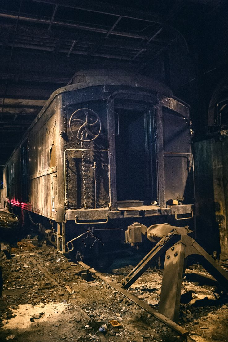 Grand Central's abandoned Track 61