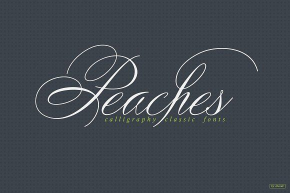 Peaches (Special Price) by Alcode on @creativemarket