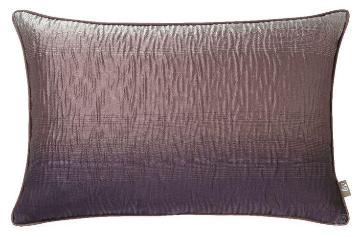 Poduszka Iliv Elements Ombre Amethyst - poszewka ze wzorem ombre z połyskującej tkaniny