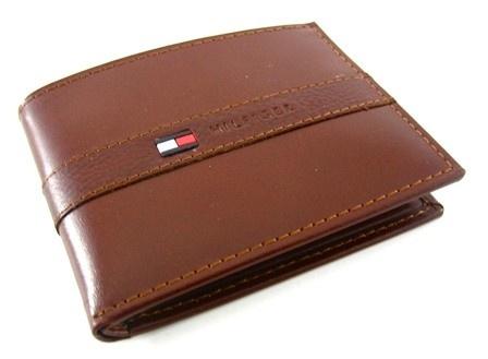 Image result for brown tommy hilfiger wallet