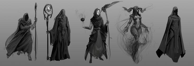 ArtStation - Dark Sorcerers, Darren Benton