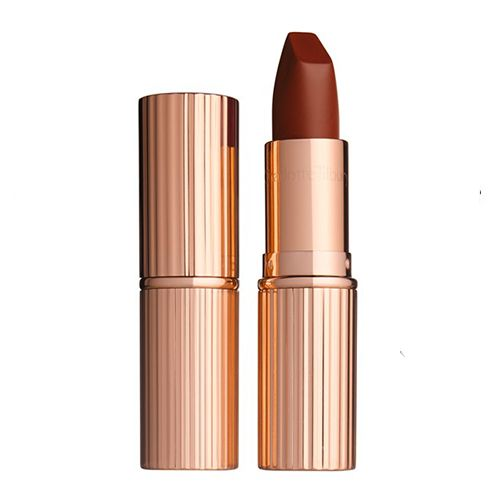 Lipstick: Charlotte Tilbury Matte Revolution Luminous Modern-Matte Lipstick in Birkin Brown