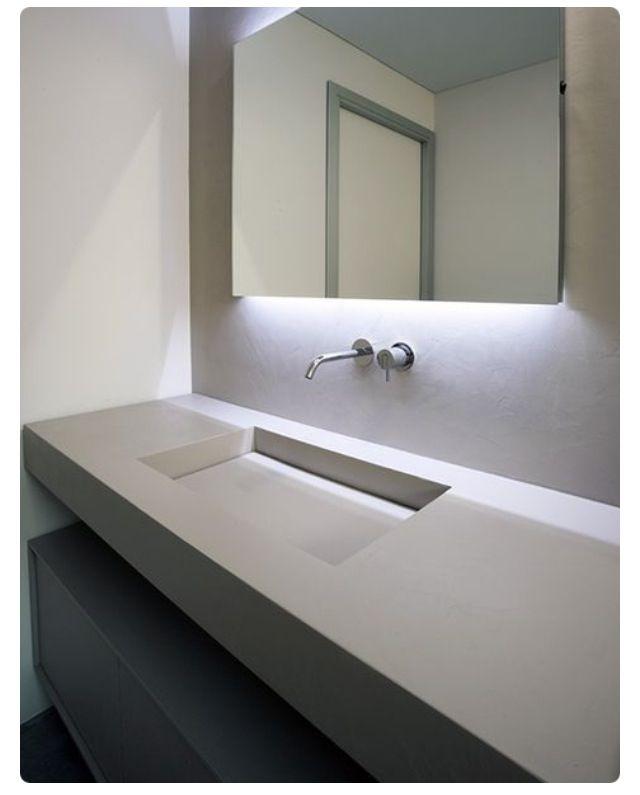 Nice clean look for 2nd Bathroom…