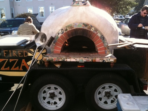 The Bakers Oven And My Pottery Shards Wood Fired Pizza