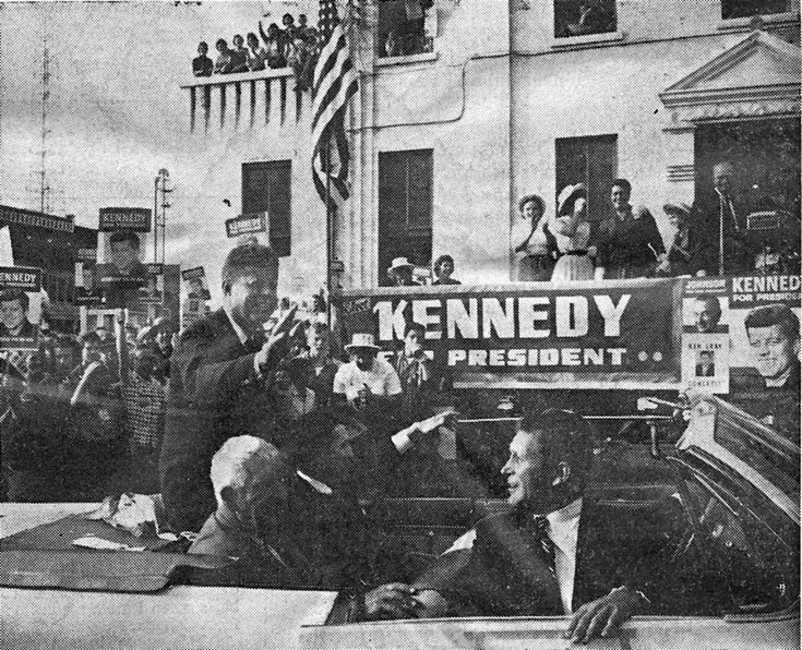 John F. Kennedy visit in 1960 election