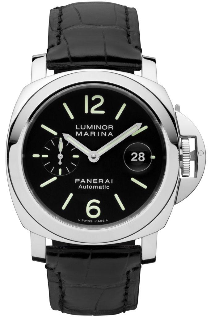 Luminor Marina Automatic Acciaio - 44mm PAM00104 - Colección Luminor - Relojes Officine Panerai