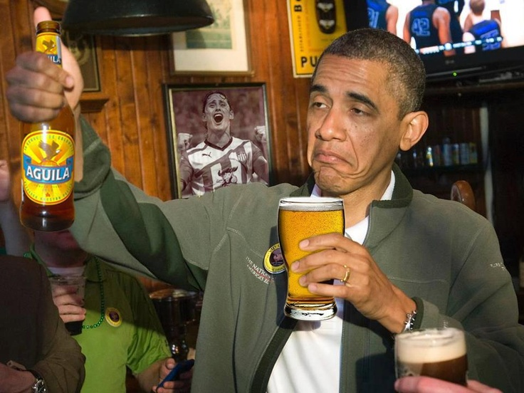 Even Obama Loves Aguila Beer LOL | My Country | Pinterest ...