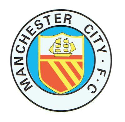 Manchester City Football Club | Country: England, United Kingdom. País: Inglaterra, Reino Unido. | Founded/Fundado: 1880 | Badge/Escudo: 1965 - 1972.