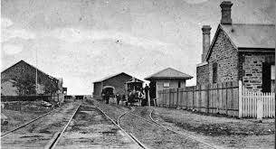 Old railway line at Victor Harbor