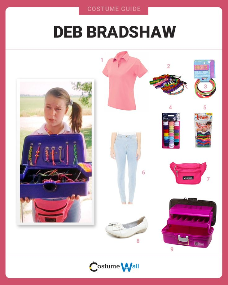 dress like deb bradshaw - Halloween Costumes Without Dressing Up