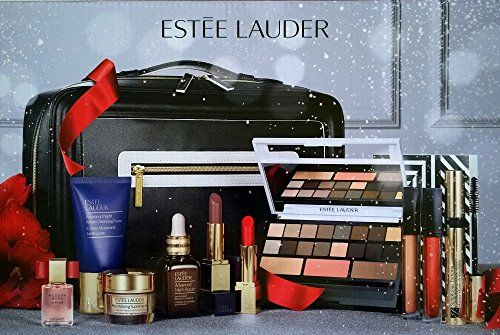 Estee Lauder 2016 Blockbuster Holiday Make Up Gift Set wTrain Case Modern Nudes -- Visit the image link more details.
