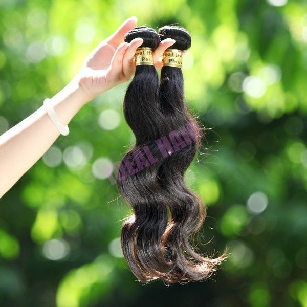 Virgin Peruvian Remy hair wefts