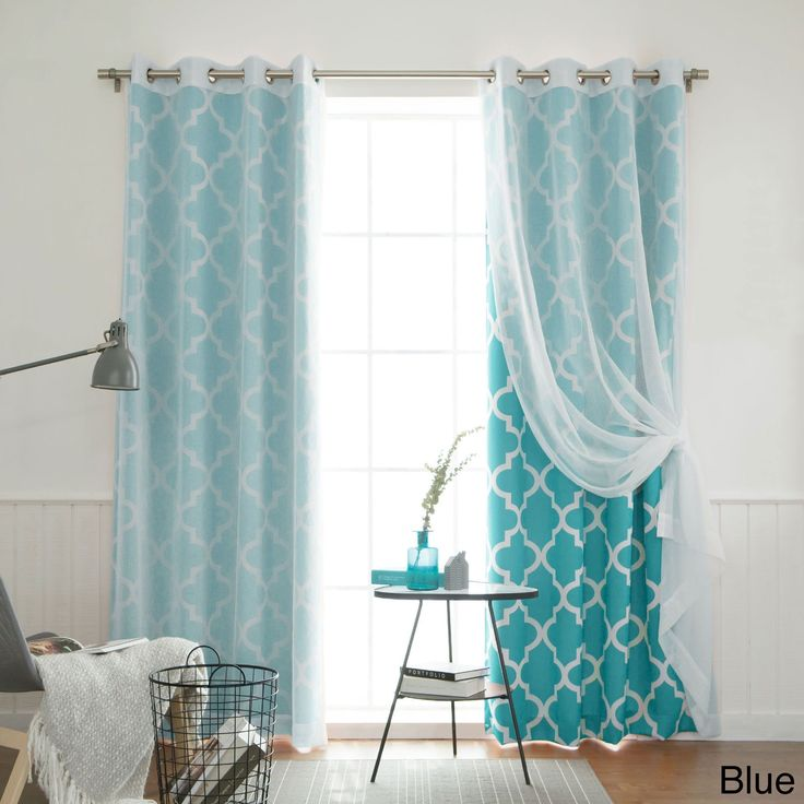mix and match curtains muji sheer moroccan 84 inch 4 piece curtain