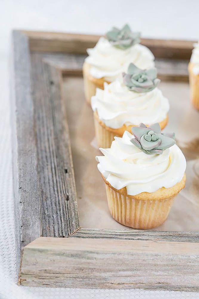 Totally Unique Wedding Cupcake Ideas ❤ See more: http://www.weddingforward.com/unique-wedding-cupcake-ideas/ #weddings
