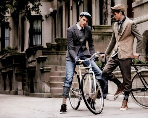 Since the portrayal of the brummy gangsters the peaky blinders (an epic bbc drama about the lawless streets of Birmingham, UK set in the 1920's) expect to see this combo of blazer + flatcap this winter 2013.