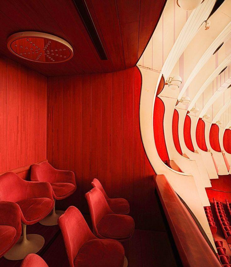 CARLO MOLLINO, Teatro Regio di Torino, Turin, Italy, 1965-73