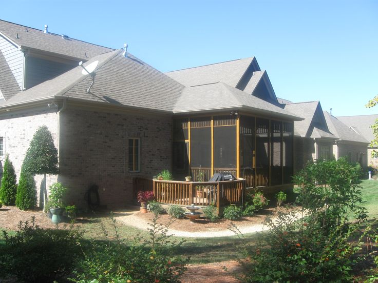 Screen Porch Roof Designs