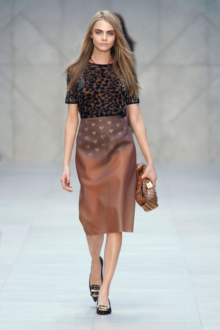 Burberry FW 13 Runway /Photography by Anthea Simms Directional yet wearable, the fall runways were hauntingly shoppable. Here are FLARE's notes on the season and its best trends.