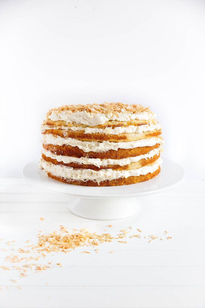 Pina Colada Cake - Broma Bakery