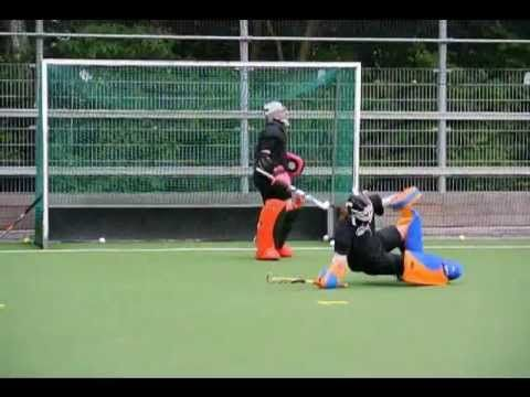 Goalkeeper training - Marith Krutzen