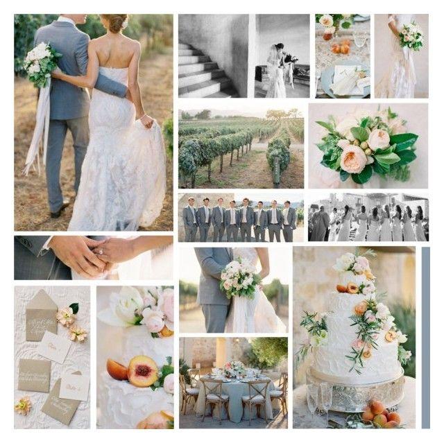 Al Fresco Wedding In Santa Ynez | StyleMePretty by anna-nemesis on Polyvore featuring art and wedding