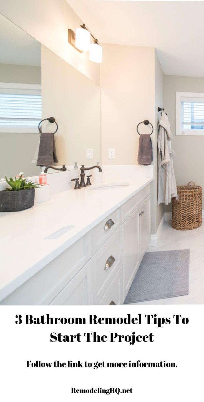Quick bathroom remodel ideas to renovate your bathroom