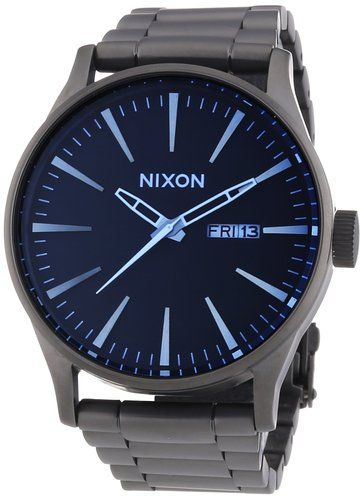 Reloj Nixon Sentry SS Gunmetal A3561427-00 - Información http://blgs.co/182nj0