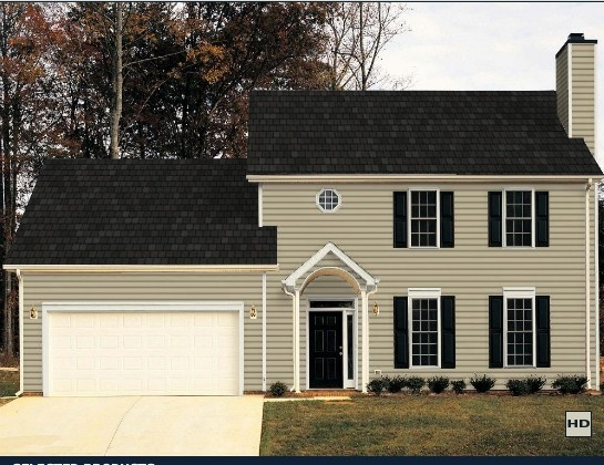 Certainteed Vinyl Siding Savannah Wicker Siding Color