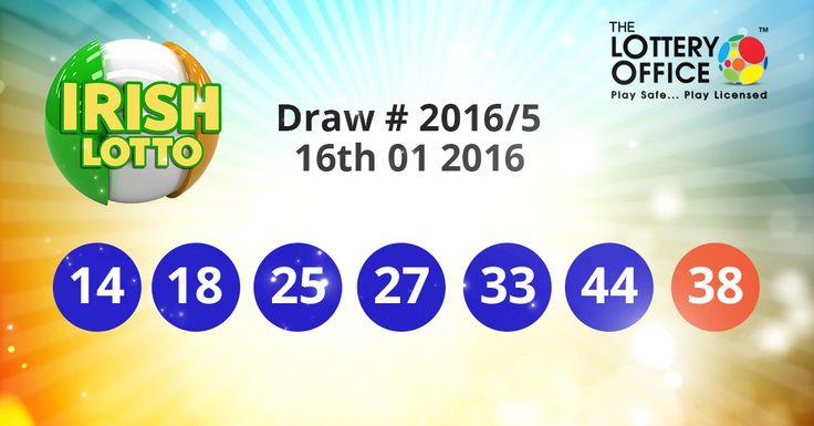 Irish Lotto winning numbers results are here. Next Jackpot: €12 million #lotto #lottery #loteria #LotteryResults #LotteryOffice
