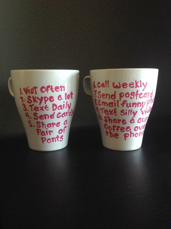 How+to+maintain+a+long+distance+friendship+mugs+by+honeymarielove,+$22.00