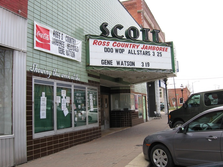 Scott Theater Scottsburg Indiana Now Ross Jamboree Old