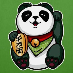 Maneki Panda Vesker & ryggsekker - Bio-stoffveske