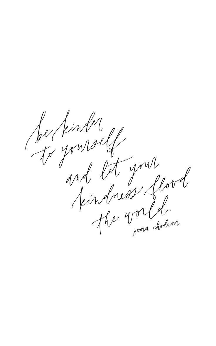 Pema Chodron quote calligraphy quote handlettering