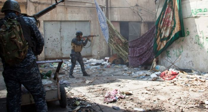 Exército iraquiano ataca Daesh em Mossul com suas próprias armas