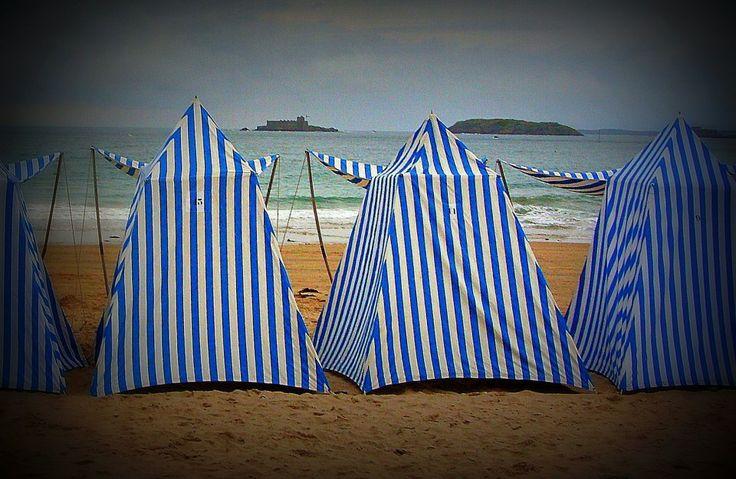 Des cabines de plage ! | Jolis voyages Dinard