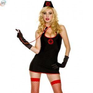 Black Nurse Kostyme