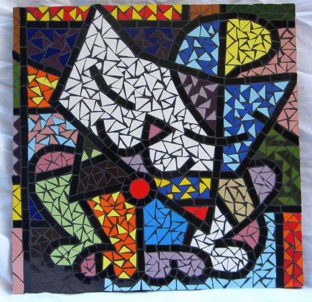 Romero Britto - mosaic from picture