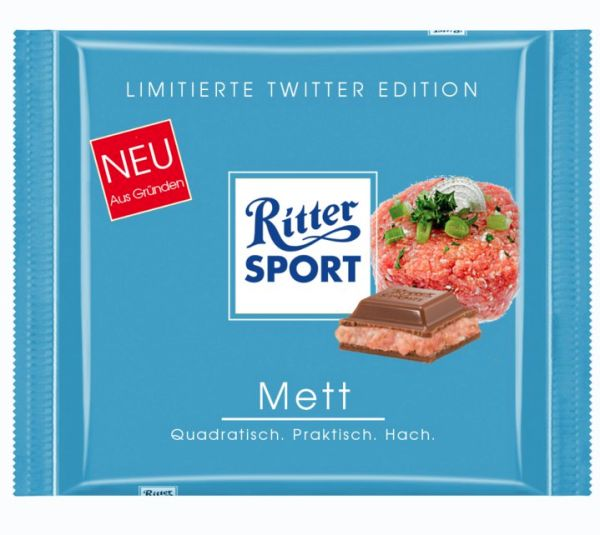 Ritter Sport Mett