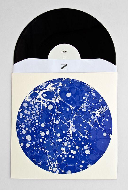 Love this blue painterly album jacket.