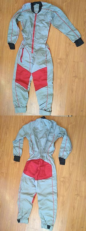 Hang Gliding and Paragliding 91561: Skydiving Grey Red Black Ff Suit Size Medium -> BUY IT NOW ONLY: $79 on eBay!