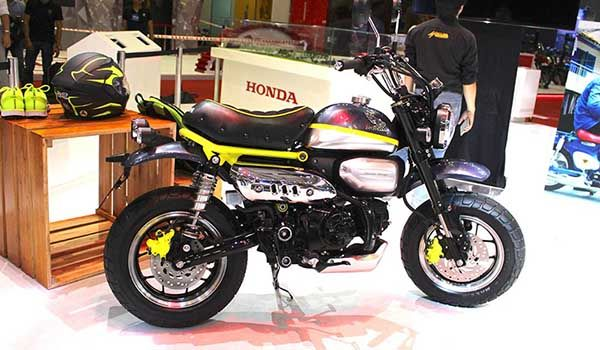 The 125cc Honda Monkey Bike concept is here