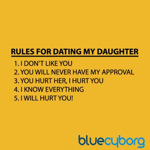 7 rules dating daughter 2 do you think that these are reasonable rules for a christian teenager 1 i will date only a growing christian 2 my date mate must be in harmony for god's will for my life.