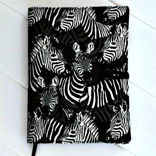 Zebra journal / notebook cover