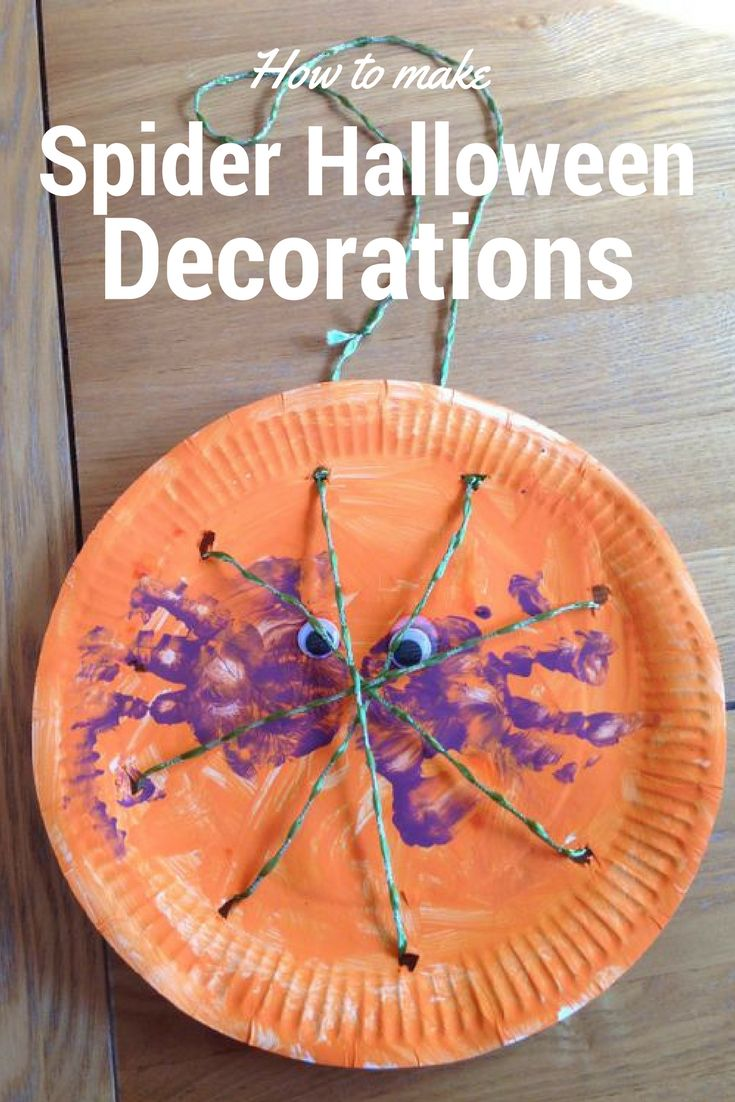 To find out how we made this lovely Spider Halloween Decoration please take a look at my blog for a step by step.